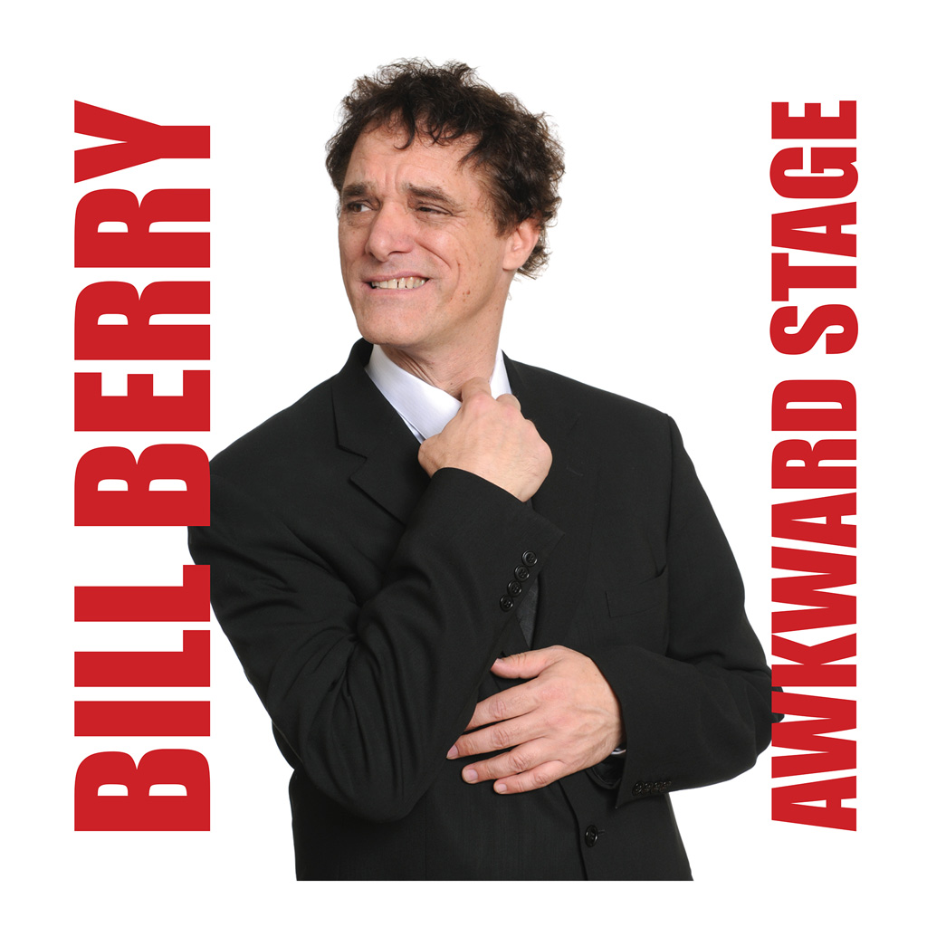 Awkward Stage CD cover art featuring photo of Bill Berry