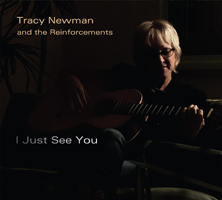 illustrated cover art for cd I Just See You by Tracy Newman and the Reinforcements